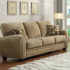 Microfiber Living Room Set Homelegance Rubin 2 Piece Living Room Set In Light Brown