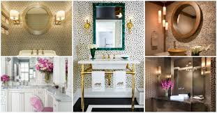 Powder Room Lighting stylish powder room decor ideas for a greater enjoyment 7075 by xevi.us