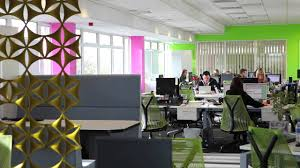 cool office interior design for uk a pany by spectrum workplace