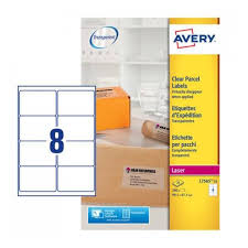 Tranparent Labels Clear Labels Avery