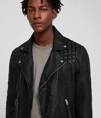 taro leather biker jacket