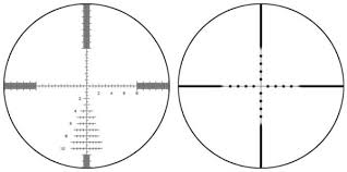 Rifle Scope Power Chart Understanding Bdc And Mil Dot Reticles Pew Pew Tactical