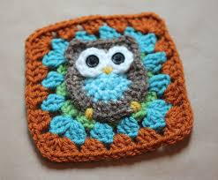 Crochet Owl Blanket Pattern Free Beauteous Owl Granny Square Crochet Pattern Repeat Crafter Me
