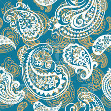 paisley pattern seamless blue paisley pattern vector illustration of backgrounds