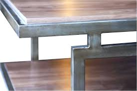 reclaimed wood and metal coffee table modern coffee tables rustic wood metal coffee table industrial reclaimed