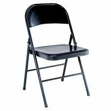 plastic metal chairs. Mainstays Steel Folding Chair, Black Plastic Metal Chairs