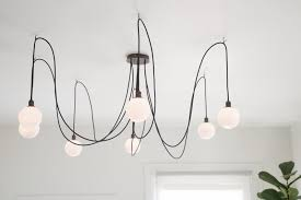 pendant lamp contemporary brushed brass blown glass