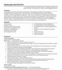 Trainee Accountant Resume Sample Accountant Resumes Livecareer