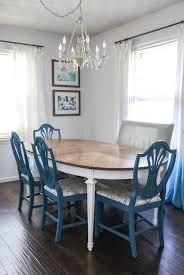 how to refinish a worn out dining table