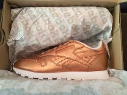 reebok x face stockholm. reebok x face stockholm \u0026#39;classic leather spirit - bronze ds us8 /