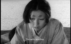 norman holland on akira kurosawa s rashomon the wife testifies