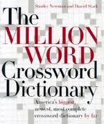 booktopia million word crossword dictionary by stanley newman 9780060517564 this book