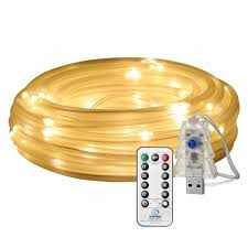 Philips Dewdrop Lights Plug In 33ft 100 Leds Rope String Lights 2700 3000k Warm White Plugin Remote Control