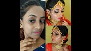 traditional bengali bridal hd makeup tutorial my wedding makeup