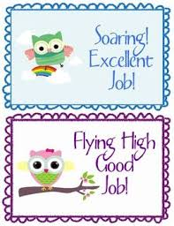 Owl Behavior Clip Chart Soaring High Owl Theme Behavior Clip Chart Free Like The