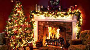 Christmas Tree And Fireplace Phone ...