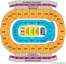 Calgary Rodeo Seating Chart Scotiabank Saddledome Scotiabank Saddledome Concerts And