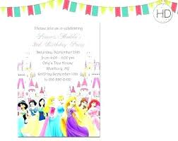 Invitations Card Maker Birthday Invitation Maker Free Plus Free Princess Invitation Maker
