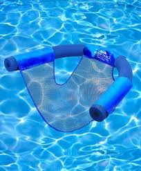 Floating Pool Chair Noodle Sling Swimming Mesh Net Seat Water Float