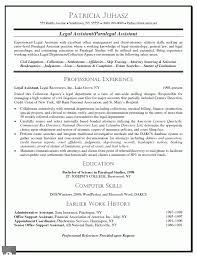 7 Legal Assistant Resume Sample Writing A Memo