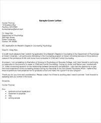 Cover Letter To University Cover Letter Template University Application Cover Letter