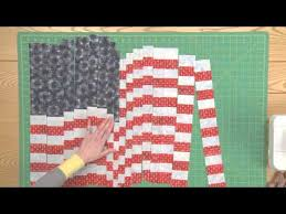 How to Make a Quilted Flag Pillowcase & Wall Hanging, Part 1 - YouTube & How to Make a Quilted Flag Pillowcase & Wall Hanging, Part 1 Adamdwight.com