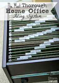 home office organization tips. organizing the most thorough home office filing system organization tips