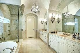 bathroom crystal chandelier master bathroom chandelier luxury master suite bathroom with elegant crystal chandelier master bathroom