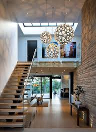 Staircase leading to heaven or hell. How To Make An Entrance Destination Living