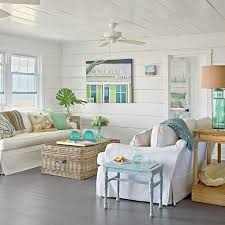 coastal living room decorating ideas. Fine Room Use Watery Hues  40 Beautiful Beachy Living Rooms Coastal On Room Decorating Ideas A