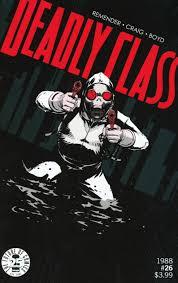 Deadly Class #26 Cover A Regular Wesley Craig Cover - Midtown Comics