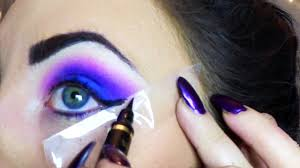how to pink purple blue eye makeup urban decay electric palette tutorial video dailymotion