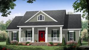 traditional house plans. Colonial Country Traditional House Plan 59952 Elevation Plans D