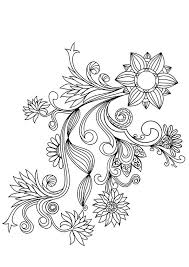 Love the colors of the flower pattern sheets. Flower Pattern Coloring Pages Coloring Home