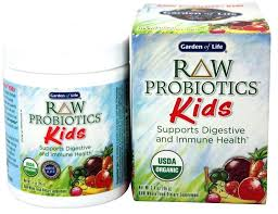 garden of life raw probiotics raw kids oz by garden of life garden life raw probiotics