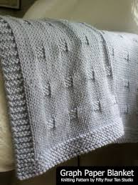 Fifty Four Ten Studio Graph Paper New Chunky Blanket Knitting Pattern