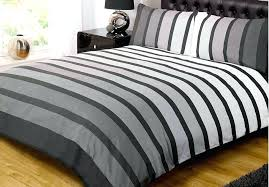 black and white striped bedding grey and white striped bedding image inspirations black stripe duvet cover