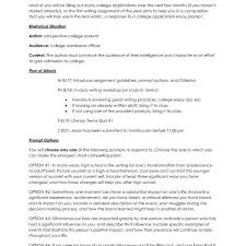 How To Write College Essays How To Write A College Application Essay Outline Fresh