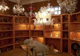 look at the assortment of murano glass s the er offers