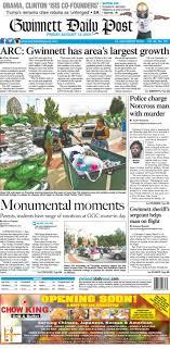 August 12, 2016 Gwinnett Daily Post by Gwinnett Daily Post - issuu