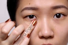 use your ring finger best undereye concealer tips you need to know