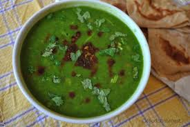 palak or spinach dal can be made by adding it blanched chopped or grinding it or even just sautéing chopped palak in little oil