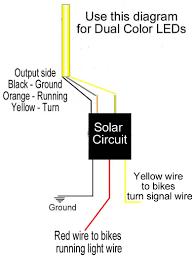 solar circuits motorcycle led turn signal wiring harness circuits solar circuits led turn signal wiring circuits