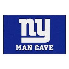 new york giants man cave 5 x 8 ulti mat area rug floor