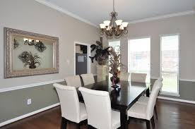 perfect dining room colors with chair rail color