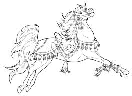 Horse Coloring Pages Free Printable Horse Coloring Pages For Adults