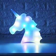 WHATOOK Colorful Unicorn Light,Changeable Night ... - Amazon.com