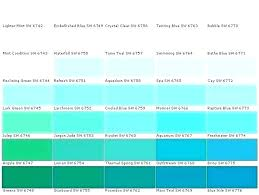 Sherwin Williams Green Color Chart Shades Of Green Paint Colors Iplaydeal Co