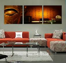 3 panel modern wall painting buddha painting home wall art home decoration picture print on canvas
