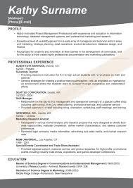 Effective Resumes Resume Templates